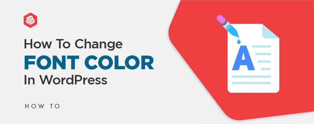 change font color