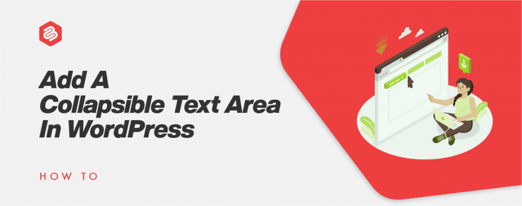 collapsible text area
